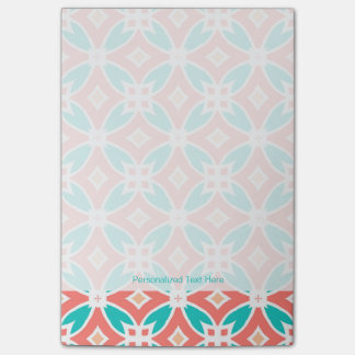 Multicolor Ethnic Pattern Post-it Notes