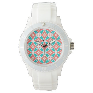 Multicolor Ethnic Pattern Watch