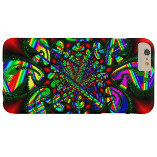 Multicolor Figures on Red iPhone 6 Plus case