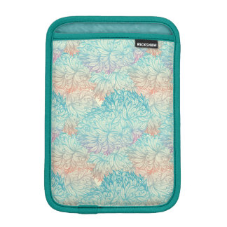 Multicolor Floral Doodle Pattern iPad Mini Sleeve