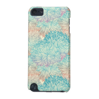 Multicolor Floral Doodle Pattern iPod Touch 5G Covers