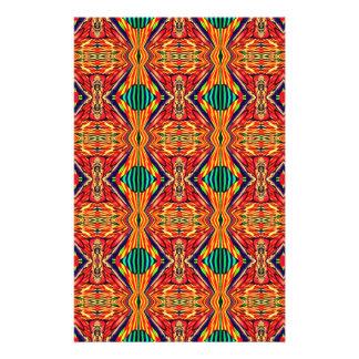 Multicolor Geometric Design. Abstract Pattern 14 Cm X 21.5 Cm Flyer