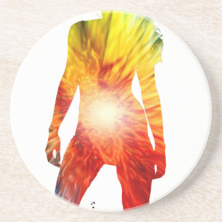 MULTICOLOR GIRL PRODUCTS BEVERAGE COASTERS