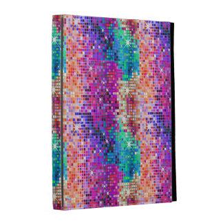 Multicolor Glitter And Sparkles 2a iPad Folio Cover