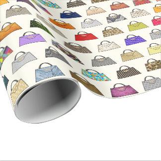 Multicolor Handbag Fashion Gift Wrap Wrapping Paper