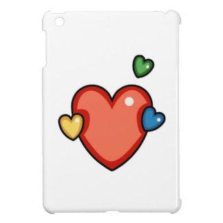 Multicolor Hearts Cover For The iPad Mini