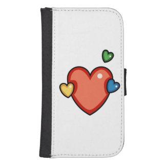 Multicolor Hearts Phone Wallets