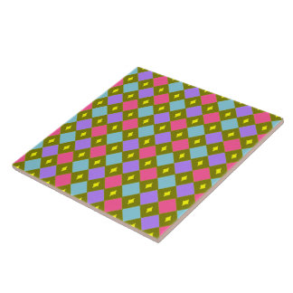 Multicolor Honeycomb Create Your Own Tile