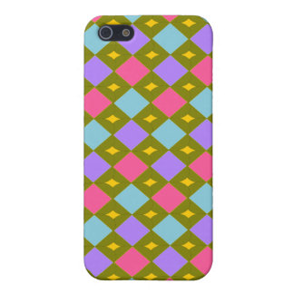 Multicolor Honeycomb  iPhone 5 Cover