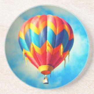 Multicolor Hot Air Balloon Drink Coaster
