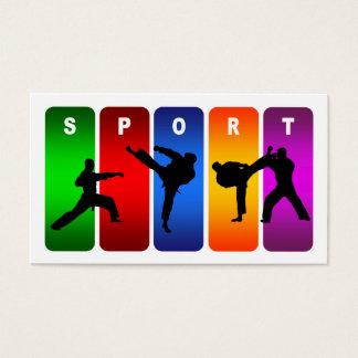 Multicolor Karate Emblem