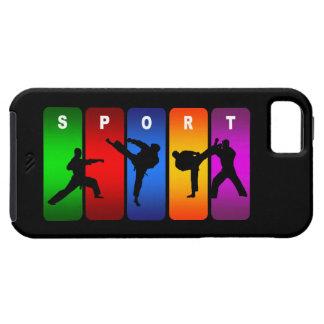 Multicolor Karate iPhone 5 Case