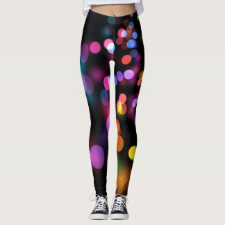 Multicolor lights leggings