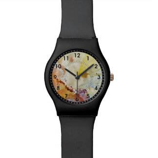 Multicolor Marble Pattern Watch