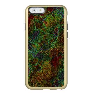 Multicolor metallic floral pattern incipio feather® shine iPhone 6 case