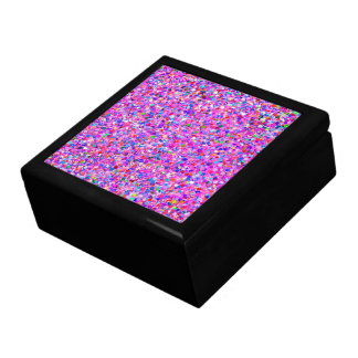 Multicolor Mosaic Modern Grit Glitter #3 Gift Box