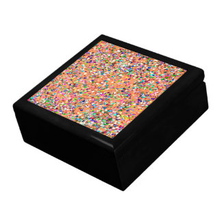 Multicolor Mosaic Modern Grit Glitter #5 Gift Box
