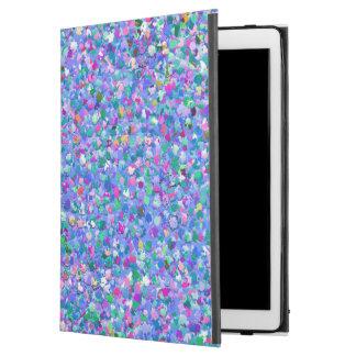 "Multicolor Mosaic Modern Grit Glitter iPad Pro 12.9"" Case"