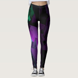 Multicolor on Dark Leggings
