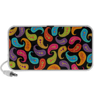 Multicolor Paisley iPod Speaker