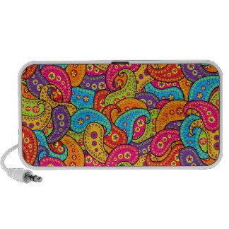 Multicolor Paisley Mini Speakers