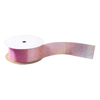 Multicolor pastel satin ribbon