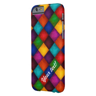 Multicolor Patchwork Pattern Barely There iPhone 6 Case
