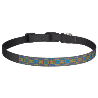 Multicolor pattern dog collar - Design Academy
