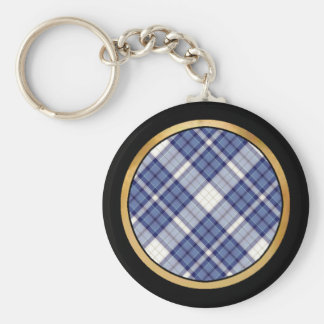 Multicolor pattern Gifts Basic Round Button Key Ring