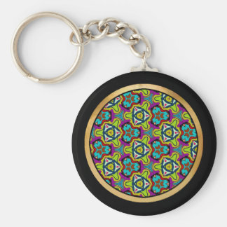 Multicolor pattern Gifts Keychains