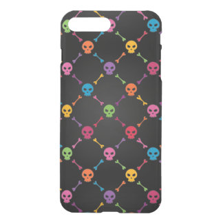 Multicolor pattern with skulls iPhone 8 plus/7 plus case
