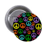 Multicolor Peace Signs