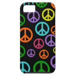 Multicolor Peace Signs iPhone 5 Covers