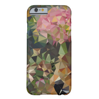 Multicolor Pink & Green Triangle Geometric Design Barely There iPhone 6 Case