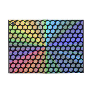 Multicolor Prism Effect Cover For iPad Mini