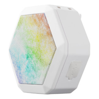 Multicolor Rainbow Clouds Customize or Stay Cloudy White Boombot Rex Bluetooth Speaker