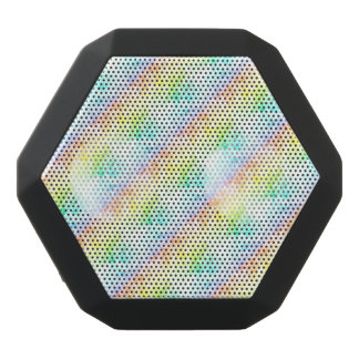 Multicolor Rainbow Clouds Customize or Stay Cloudy Black Boombot Rex Bluetooth Speaker