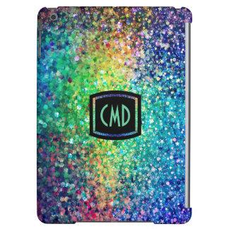 Multicolor Retro Glitter & Sparkles Pattern