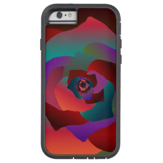 Multicolor Rose, Tough Xtreme iPhone 6 Case