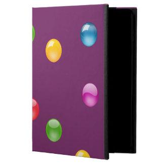 Multicolor Shiny Polkadot Confetti DIY Background iPad Air Cover