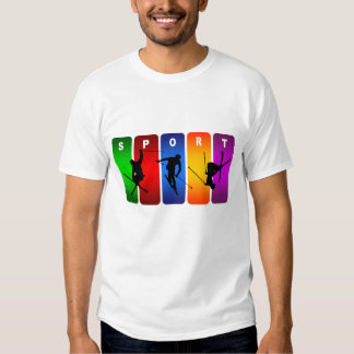 Multicolor Ski Emblem T-shirt