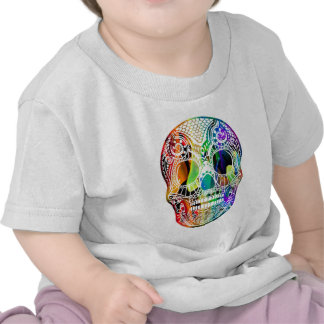 MULTICOLOR SKULL PRODUCTS SHIRT