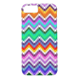 Multicolor spikes iPhone 8/7 case
