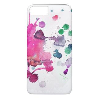 Multicolor Spray Paint iPhone 7 Plus Case