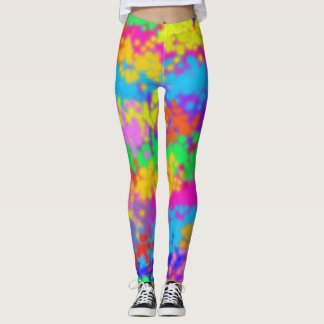 Multicolor Stipple Leggings