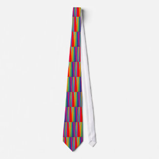 Multicolor Striped Tie