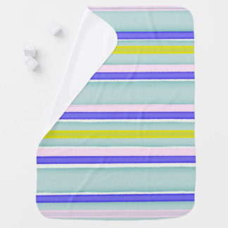 Multicolor stripes design pramblankets