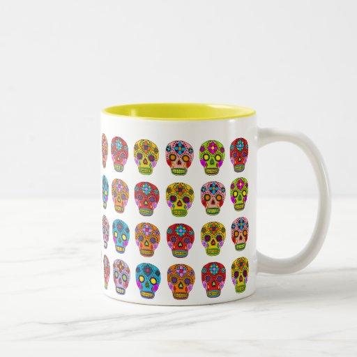 Multicolor Sugar Skulls Mug