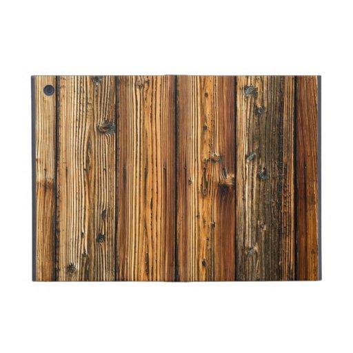 multicolor wood patterns textures iPad mini case