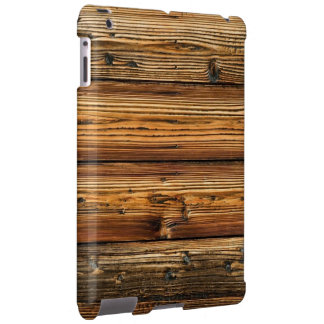 multicolor wood patterns textures iPad case
